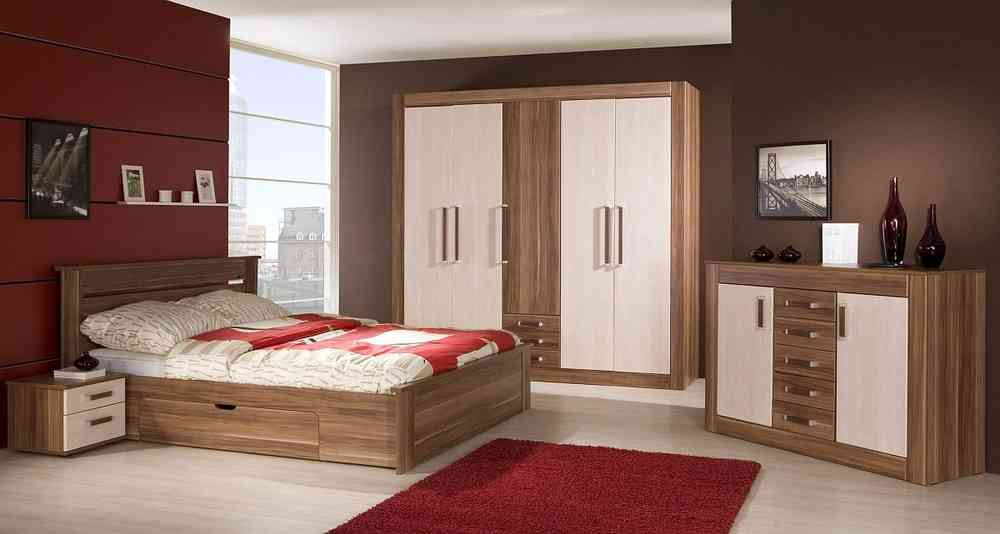 Schlafzimmer ROYAL mit großer Kommode