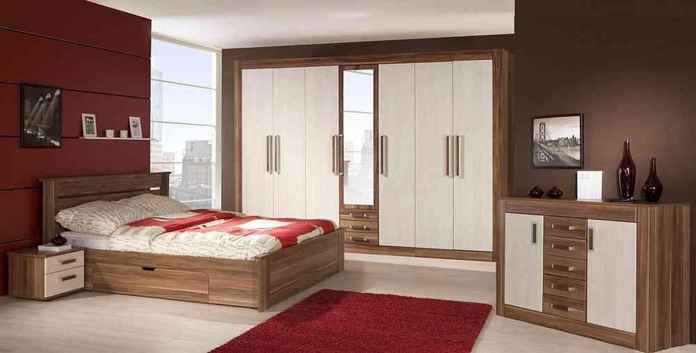 Schlafzimmer ROYAL mit 3 Meter Kleiderschrank