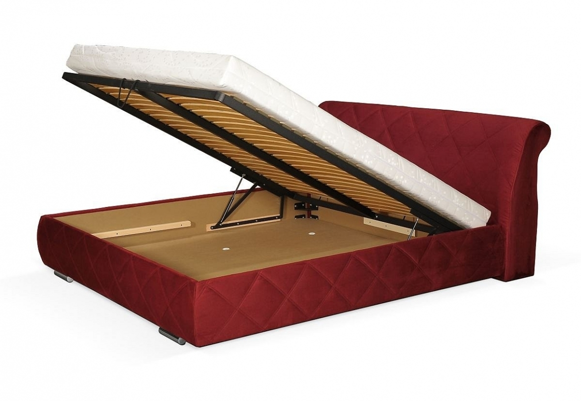doppelbett bolero mit bettkasten und lattenrost. Black Bedroom Furniture Sets. Home Design Ideas