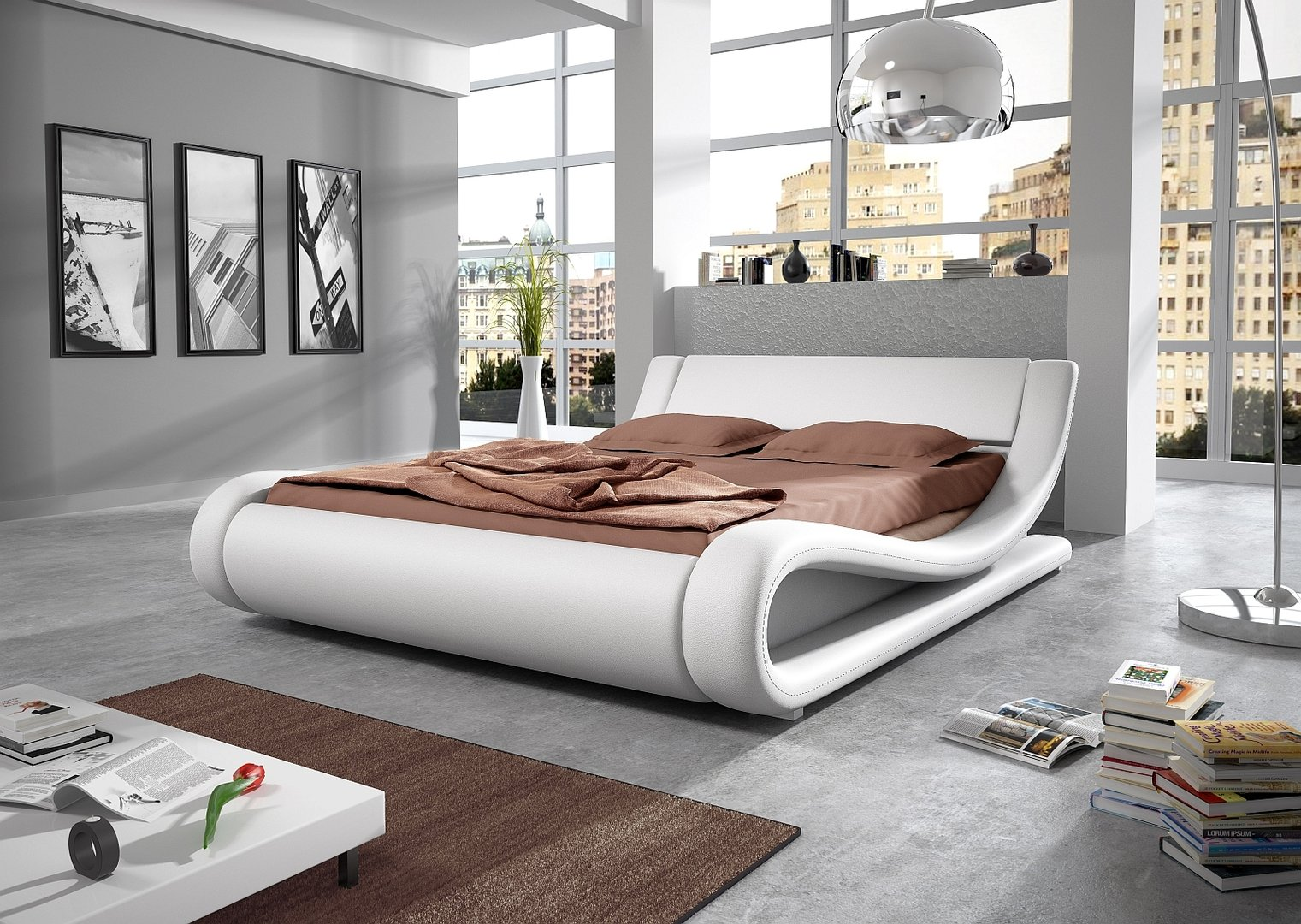 Designer bett orlando mit farbauswahl for Bedroom ideas in pakistan