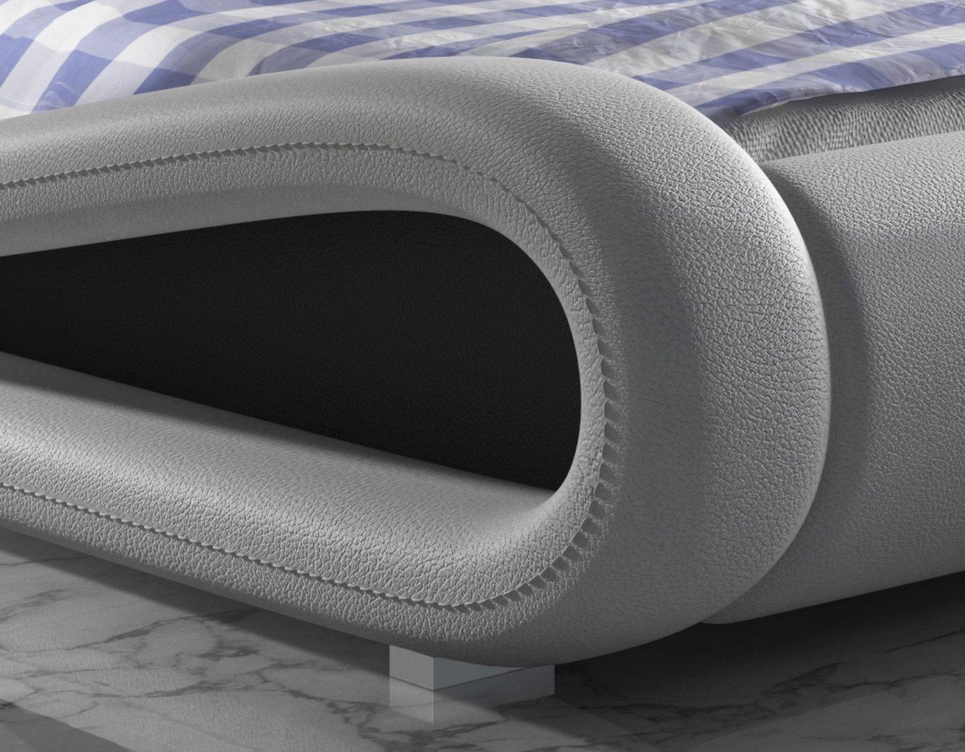 kunstleder bett designer bett ottawa. Black Bedroom Furniture Sets. Home Design Ideas