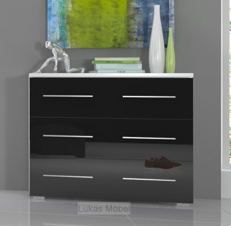 nachttisch schrank schwarz finest beautiful finest schwarz roller nolte weis hochglanz m. Black Bedroom Furniture Sets. Home Design Ideas