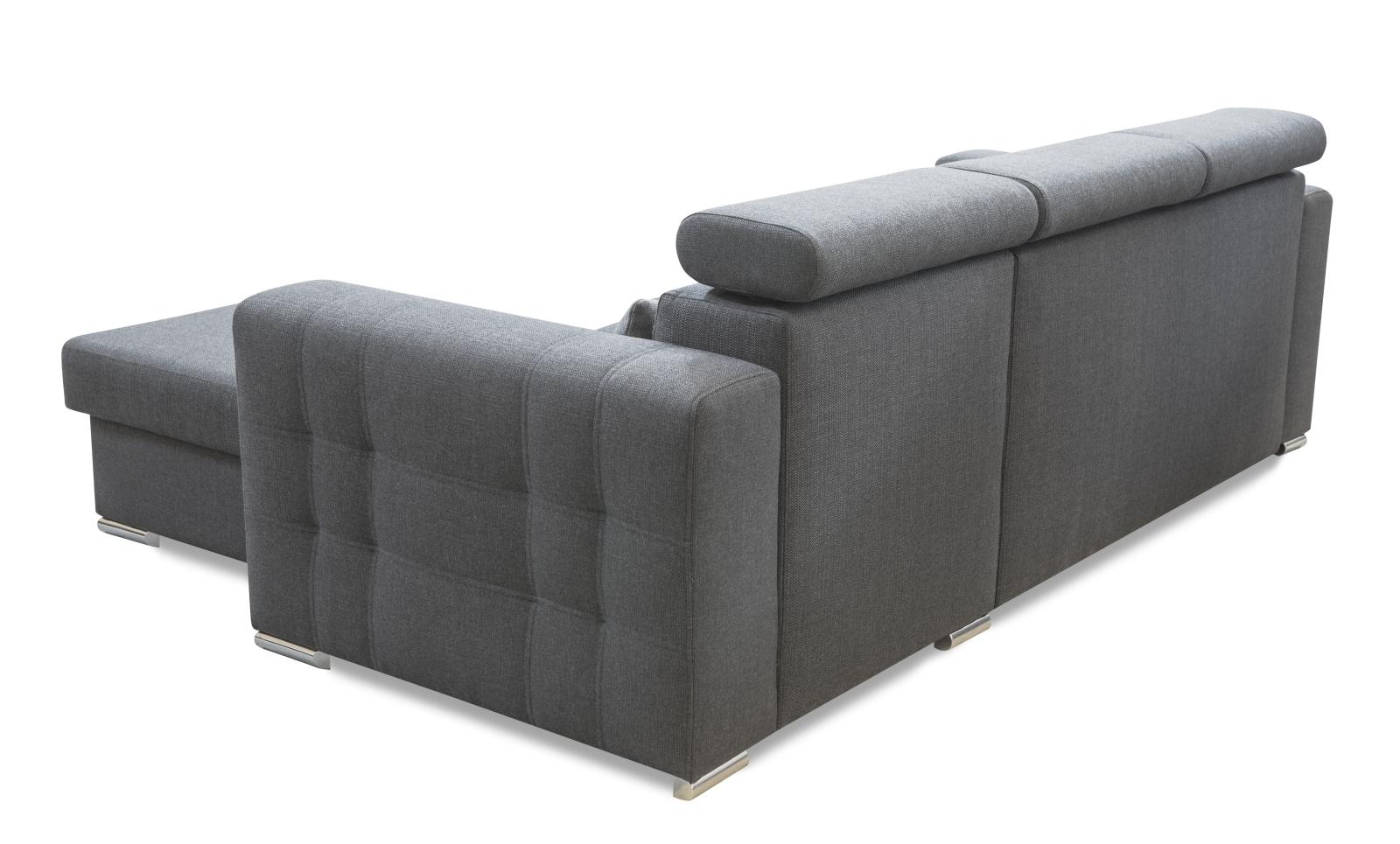 modernes ecksofa maggio mit schlaffunktion bettkasten. Black Bedroom Furniture Sets. Home Design Ideas