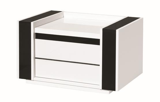 hochglanz schlafzimmer komplett linn wei. Black Bedroom Furniture Sets. Home Design Ideas