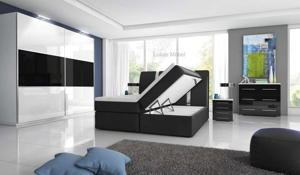 Hochglanz Schlafzimmer RivaBox II