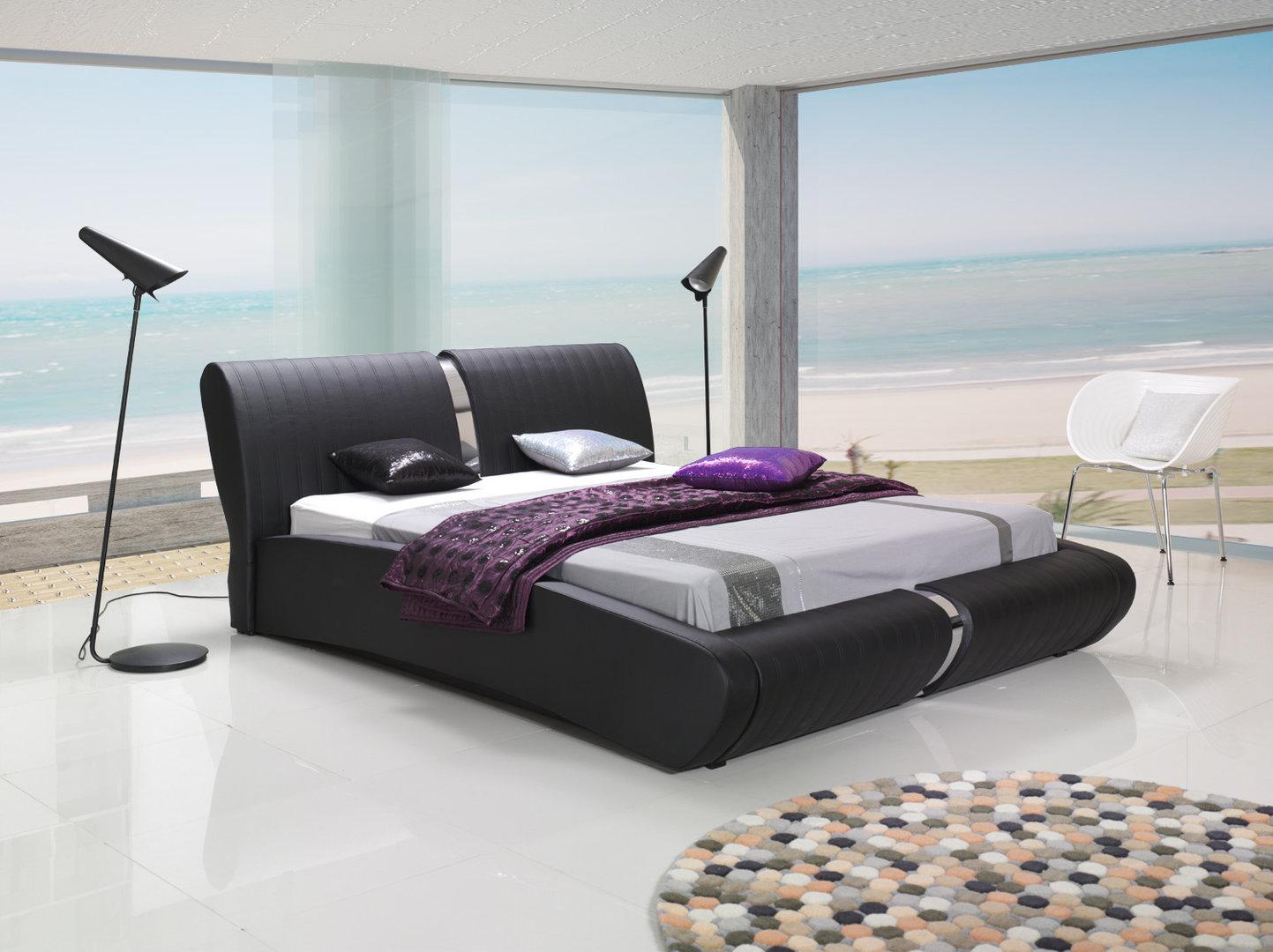 kunstlederbett peru mit bettkastenfunktion. Black Bedroom Furniture Sets. Home Design Ideas