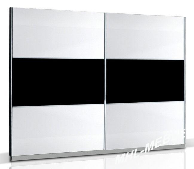 kleiderschrank nova hochglanz mit farbauswahl. Black Bedroom Furniture Sets. Home Design Ideas