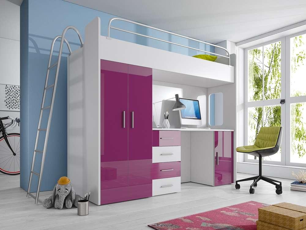 Etagenbett Leiter : Etagenbett hochbett marco mit leiter