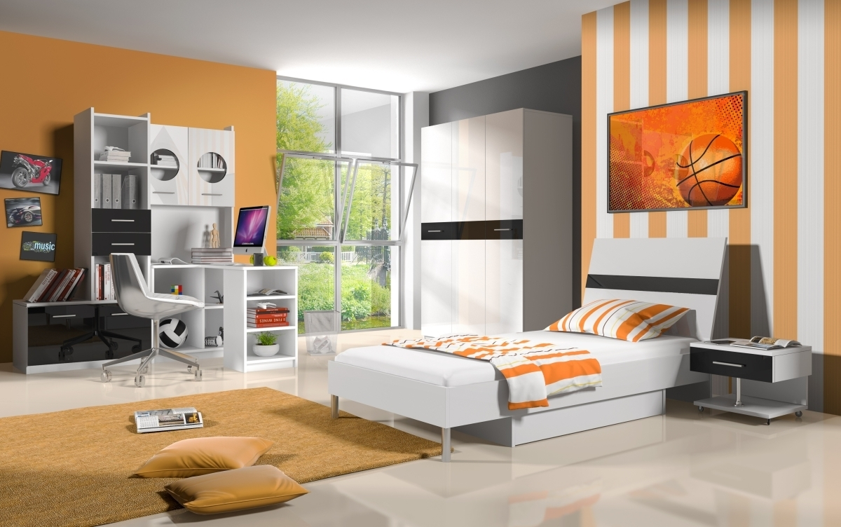 hochglanz jugendzimmer komplett kai 6 teilig. Black Bedroom Furniture Sets. Home Design Ideas