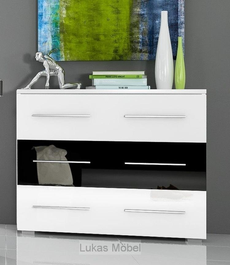 Komplett Schlafzimmer Hochglanz RivaBox II